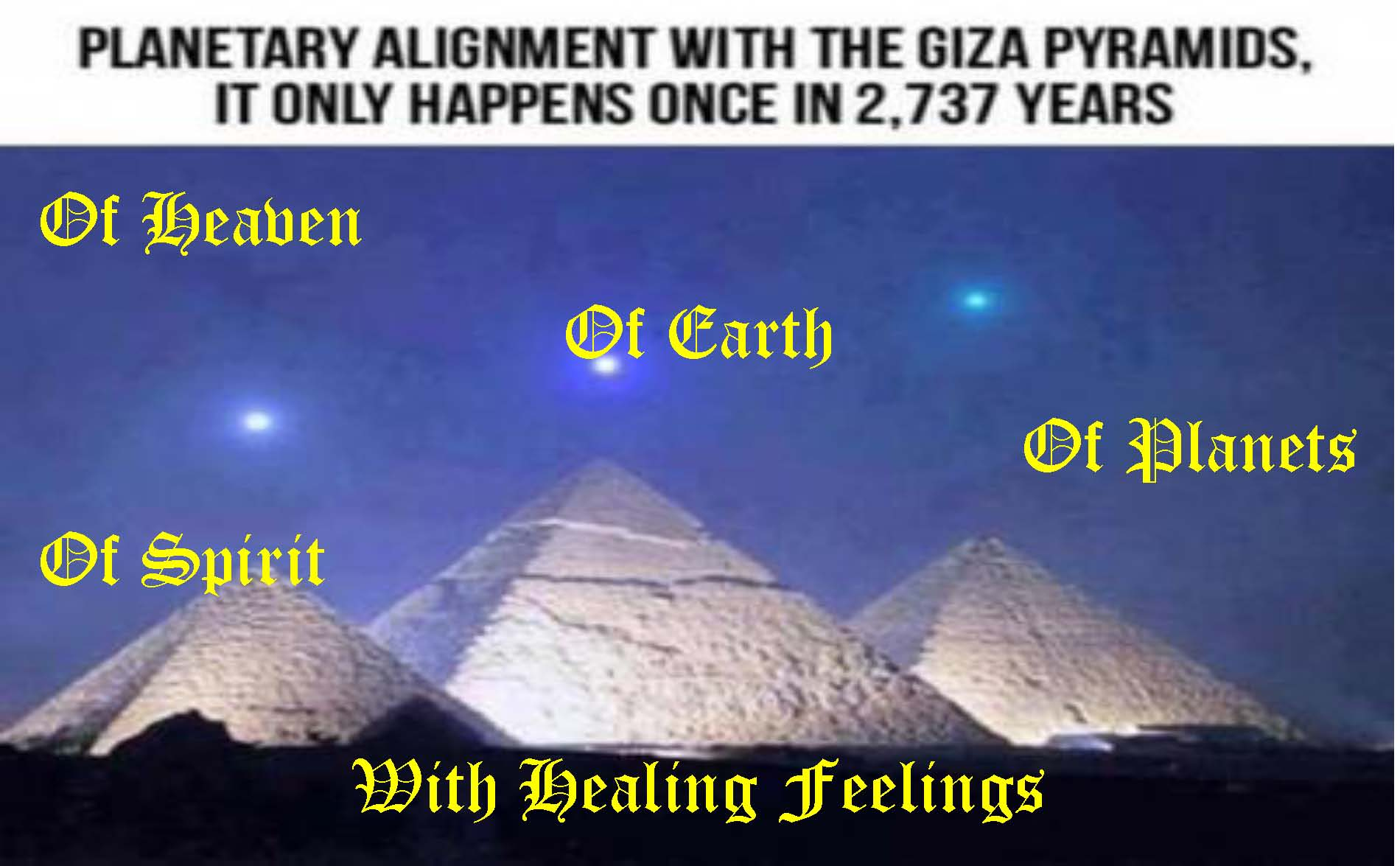 Of Heaven Of Earth Healing